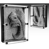 Pinart Pin Art Grande 20x15cm 3d Escultura Metal Microcentro