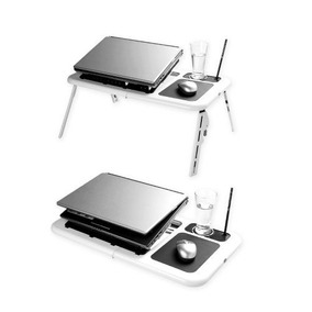 2x1 Mesas Notebook O Laptop Plegable Con Ventilador R5419