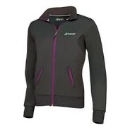 Sweat Jacket Babolat Mujer Black