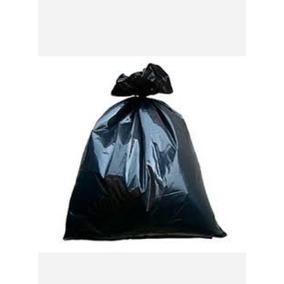 Bolsa Para Basura Negra 90x120cm Material Reciclado