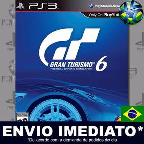 Jogo Ps3 Gran Turismo 6 Psn Play 3 Dublado Pt-br Digital