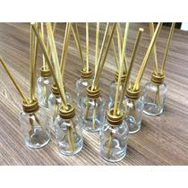 Kit Frasco Difusor/aromatizador Vidro 30ml+varetas -10 Unid.