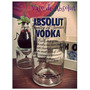 Vaso Botellas Reciclada Del Vodka Absolut
