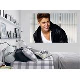 Adesivo Parede Música Cantor Poster Foto Justin Bieber