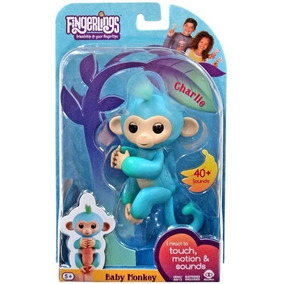 Agarradinhos - Fingerlings - Baby Monkey Charlie - Candide