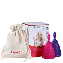 Fleurity Coletor Menstrual Tipo 2 (-30a Ou S/filhos) 2un Blz