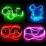 Luces Hilo De Neon + Pilas Para Vestidos Arboles Ropa 5m