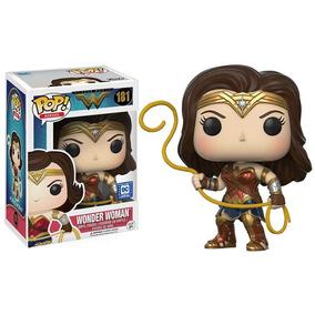 Funko Pop Wonder Woman # 181 Super Raro: Legion Of Colletors