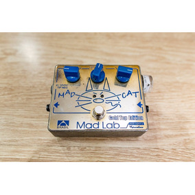 Pedal Mad Cat Mad Lab Gold Top Edition
