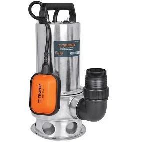 Bomba Sumergible Para Agua Sucia, 1 Hp, Metálica