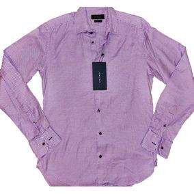 Camisa Zara Tailored Fit T. S (36) 100% Nueva Y Original