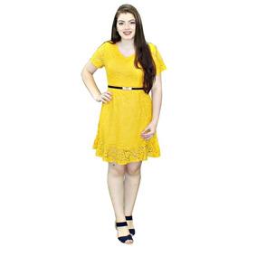 Vestido Evangélico Sino Em Renda Guria Roupa Feminina Q3006