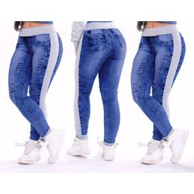 6fd6975533 Cshor Jeans Com Moletom - Calças Jeans Feminino no Mercado Livre Brasil