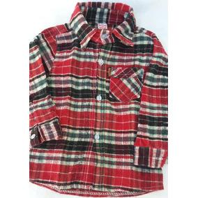 Camisa Leñadora Infantil. Impecable. Talle 3
