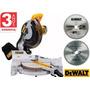 Serra Esquadria 10p 1600w 220v Dewalt Dw713 + Aluminio Madei