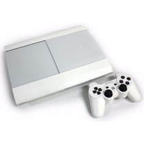 Playstation 3 Ps3 Branco Super Slim Hd 500 Gb Novo Na Caixa