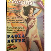 Paola Nuñez Revista Teleguia