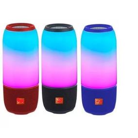 Caixa De Som Portátil Pulse 3 Bluetooth Recarregavel Usb P2