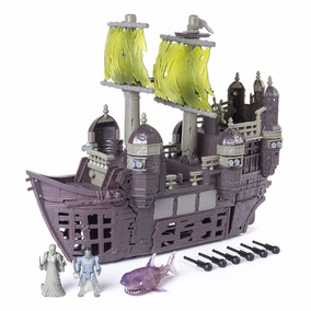 Piratas Del Caribe Set Barco Silent Mary Fantasma Disney