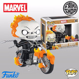 Funko Pop Rides Ghost Rider #33 Previews Exclusive Px