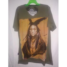 Camiseta Toxicomano Cacique Indigena Talla M