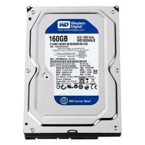 Hd Desktop 160gb Western Digital Sata2 7200rpm Novo