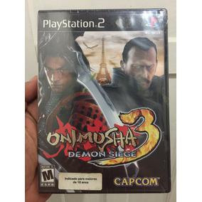 Onimusha 3 Lacrado Black Label Playstation 2