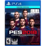 Pro Evolution Soccer 2018 Pes 2018 Ps4 Stock