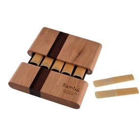 Porta Cañas Clarinete /s. Alto Bambú 10 Cañas