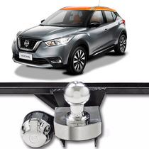 Engate Reboque Nissan Kicks Com Tomada E Bola Cromada