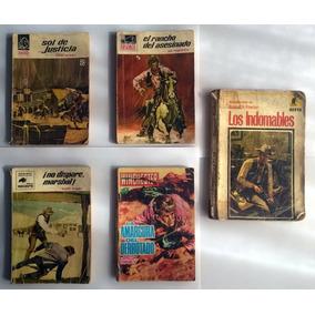 Jc* Bolsi Libros Vaqueros Cowboys Western. Buen Estado.