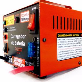 Carregador De Bateria 12 Volts -10 Amp Automático Reativador