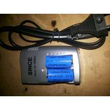 Cargador 3 Volt Cr123a Doble