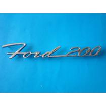 Emblema Ford 200 Falcon Futura Clasico