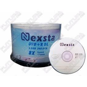 Dvd Doble Capa(duai Layer) Nexstar 8.5gb -8x Cilindro De 50