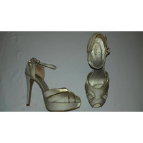 Hermosos Zapatos Nude Estilo Vintage.ideales Novia