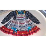 Roupa Vestido Infantil Criança Quadrilha Atacado 20 Unid.