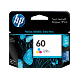 Cartucho Original Hp 60 Color Impresora F4280 F4580 F4480