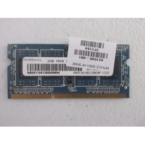 Memoria Ramaxel 2gb 1rx8 Pc3-10600s Ddr3 1333mhz Laptops