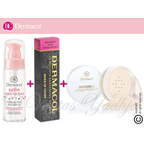 Trio Dermacol Satin Base + Make-up Cover + Invisible Fixing