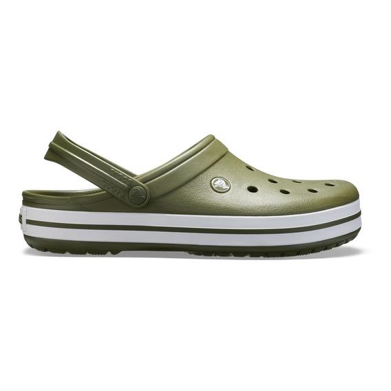 Crocs Crocband Clog Verde Hombre Mujer
