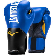 Guantes Boxeo Everlast Pro Style Elite 2018 8 10 12 14 16 Onzas Negro / Azul / Rojo / Rosa Box Baires Deportes