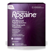 Women´s Rogaine 2% Tópico Three Month Supply