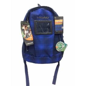Mochila Head Eco Solar Scotch Azul Venta Ofertas