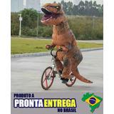 Fantasia Para Festa E Eventos Carnaval T-rex + Brinde