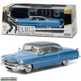Miniatura Elvis Cadillac 1955 Fleetwood Greenlight 1:18 32cm