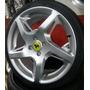 Rodas Ferrari Rocket + Pneus 195/40/17 Onix Fit Punto Hb20