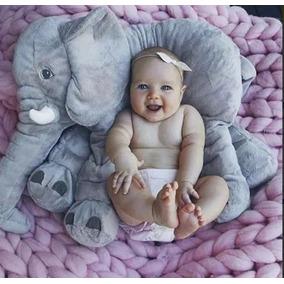 Elefante Almofada Pelúcia 60 Cm