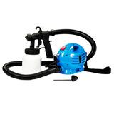 Pistola Pintura Elétrica Compressor Pulverizador 650w 127v