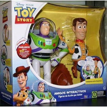 Toy Story Woody Y Buzz Lightyear Interactivos 100 Frases